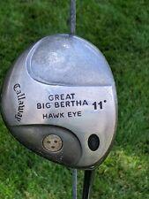 Callaway Great Big Bertha Hawkeye 11* CLASSIC
