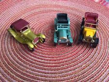 TOP GEAR!!  Collection of Vintage LESNEY Matchbox -Rolls Royce -Daimler-Cadill