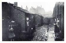 Lancashire Nostalgia Postcard Wigan Slums 1939 Reproduction Card NS27