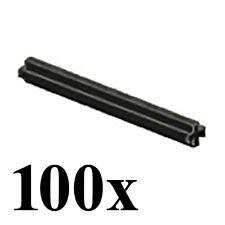 LEGO Technic 100 pcs BLACK AXLE SIZE 6 STUDS LENGTH Cross Rod Medium Mindstorms