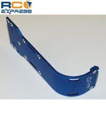 GPM Racing Tamiya Terra Crusher Blue Aluminum Rear Skid Plate TEC1331R