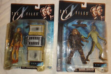 McFarlane X-Files Caveman Attack Alien Fireman Series 1 action figure set lot B