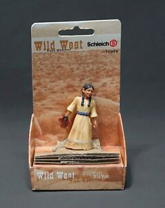Schleich Wild West Sioux Indian Mutter 70306 Native American Girl w Doll Papoose