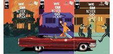 WE CAN NEVER GO HOME ISSUES 1 2 3 - RARE CONNECTING JETPACK VARIANT COVERS