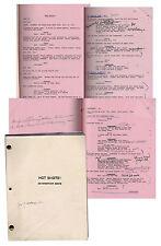Lloyd Bridges Personal Copy of Hot Shots! Movie Script