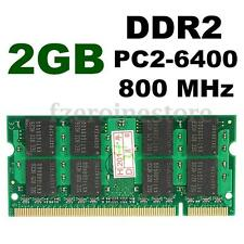 2GB PC2-6400 DDR2 800MHZ 200-pin SODIMM Laptop Notebook SDRAM Memory Memoria