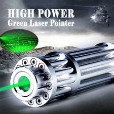 High Power Military Laser Pointer Pen Green 532nm Militar Burning Beam