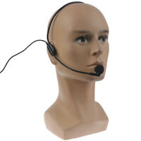 3.5mm Plug Head-mounted headset microphone Guide Lecture Speech Headset  xnL_AA