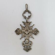 Big Russian Silver Cross, 17th century, Oldbelievers