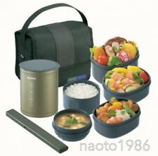 Zojirushi SZ-DA03-GL Thermal Lunch Box BENTO BAKO Olive Green
