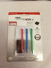 New Nintendo 3DS XL Write & Protect Pack Stylus and Screen Protectors