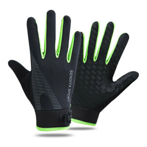 Men Women Full Finger Gloves Sports Gym Work Out Bicycle Touch Screen Glove US