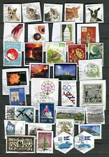 Iceland Lot Most Recent Stamps on Paper Kiloware Great Cancels - FREE SHIPPING