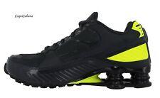 "Nike Women's ""Shox Enigma 9000""  Black Volt Training Shoes Size 8 New"