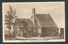 Zaandam  Czaar Peterhuisje voorheen