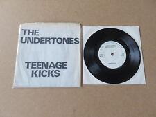 "THE UNDERTONES Teenage Kicks GOOD VIBRATIONS 1978 UK 1ST PRESSING VINYL 7"" GOT4"
