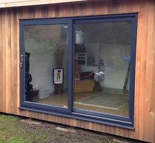 Full Grey uPVC / Sliding Patio Doors / 2200mm x 2100mm / BRAND NEW