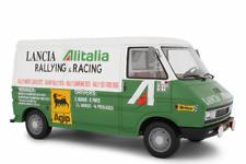 FIAT 242 ASSISTENZA LANCIA ALITALIA CORSE RALLYE 1974 LAUDORACING LM107A1 1/18