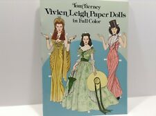 New! Vivien Leigh Paper Dolls, Tom Tierney in Full Color Uncut 1981