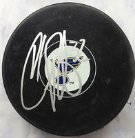 CHRIS PORTER SIGNED ST LOUIS BLUES NHL HOCKEY PUCK AUTOGRAPHED COA J4