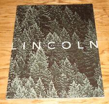 Original 2002 Lincoln Navigator Deluxe Sales Brochure 02
