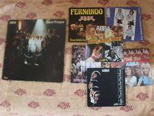 Lot ABBA 7 EP  45T + LP Super Trouper ... Money ,Winner(1975 /1980 ) VG