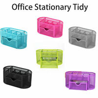 Schreibtischorganizer Büroorganizer Schreibtischbox Metall Büroablage Mesh