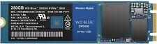 WD Blue SN500 250GB NVMe Internal SSD - Gen3 PCIe, M.2 2280, 3D NAND