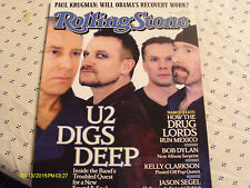 U2 Covers Rolling Stone Magazine March 2009 Leonard Cohen
