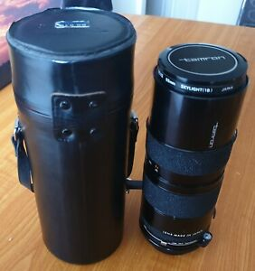 Vintage Tamron Lens for Canon FD - ZOOM 1:4.5 f=85-125 BBAR MULTI C