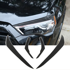 For Toyota 4Runner 10-20 Carbon Fiber Headlamp Taillight Eyebrow Stickers Decal
