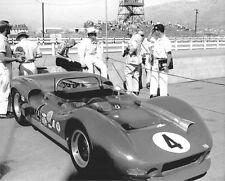 Vintage 8X10 McLaren M1A Bruce McLaren 1965 Riverside L.A. Times Grand Prix