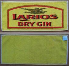 """TOVAGLIETTA PUBBLICITARIA PUB / BIRRERIA / BAR - Soggetto marca """"LARIOS"""" DRY GIN"""
