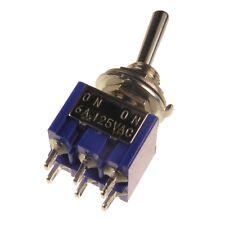 MIYAMA MS-500F Kippschalter 2-polig EIN-EIN Schalter 2xUM 6A 125V AC 090209