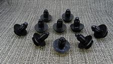 10X HONDA ACCORD SALOON TOURER Bumper Push Trim Panel Fastener Clips 8-9mm