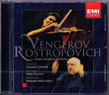 VENGEROV & ROSTROPOVICH: SCHEDRIN Concerto Cantabile STRAVINSKY TCHAIKOVSKY CD