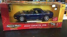 Corvette Z06 2003 American Muscle 1/18