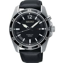 Seiko Kinetic SKA789P1 Montre Homme Menthe