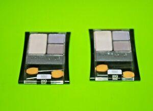 Maybelline New York Expert Wear Eyeshadow Quads 20Q Velvet Crush Lot Of 2 + GIFT