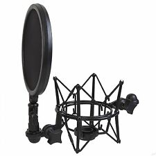 LyxPro LMST-1 Intergrated Shock Mount with Pop FIlter