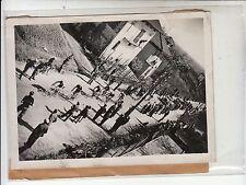 1935 CICLISMO BIELLA foto MILANO-TORINO B/N GRUPPO CICLISTI-g641