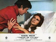 RAQUEL WELCH JAMES STACY TUEUR DE FILLES FLAREUP 1969 VINTAGE LOBBY CARD #5