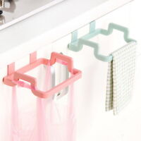 Kitchen Rubbish Garbage Bag Holder Stand Rack Trash Hanging Organizer Storage
