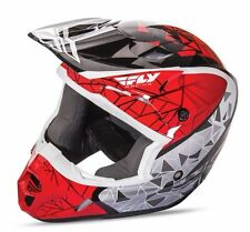 NEW Fly Racing Kinetic Crux Helmet  Dirt Bike Offroad MX ATV Snowmobile BMX UTV