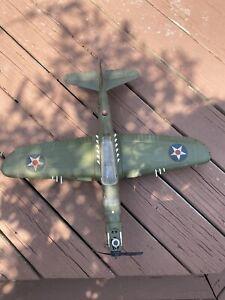 Vintage Wen-Mac USAAF P-39 Tank busting Airacobra Air Gas Powered Airplane