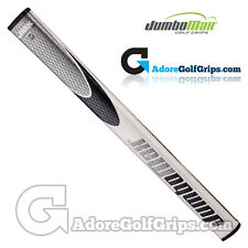 JumboMax JMX JumboFlat 17 Inch Long / Arm Lock Putter Grip - White / Black