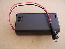 Dummy alarm BLUE Flashing LED Light with AA battery box