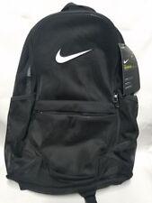 Nike Brasilia Mesh Backpack Black Sac Gym Bag School Transparent New