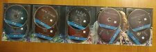 The Twilight Saga COMPLETE Collection ALL 5 MOVIES & Features 10 Blue Ray Discs