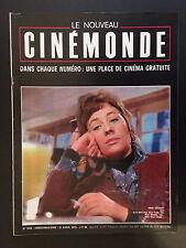 cinemonde n°1832 annie girardot 1970